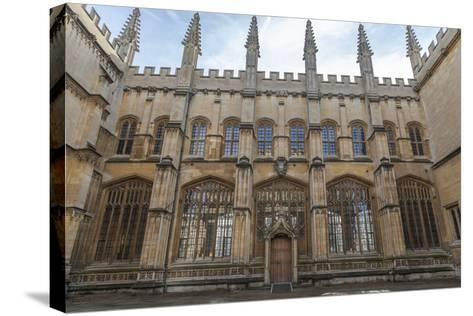 The Bodleian Library, Oxford, Oxfordshire, England, United Kingdom, Europe-Charlie Harding-Stretched Canvas Print