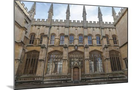 The Bodleian Library, Oxford, Oxfordshire, England, United Kingdom, Europe-Charlie Harding-Mounted Photographic Print