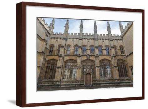 The Bodleian Library, Oxford, Oxfordshire, England, United Kingdom, Europe-Charlie Harding-Framed Art Print