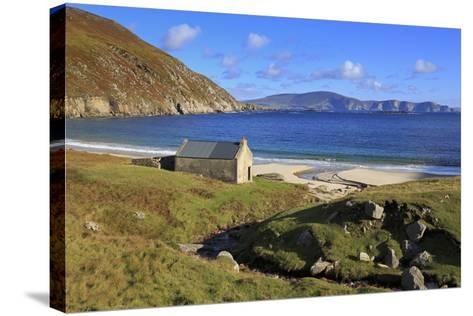 Keem Beach on Achill Island, County Mayo, Connaught (Connacht), Republic of Ireland, Europe-Richard Cummins-Stretched Canvas Print