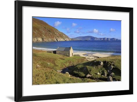 Keem Beach on Achill Island, County Mayo, Connaught (Connacht), Republic of Ireland, Europe-Richard Cummins-Framed Art Print