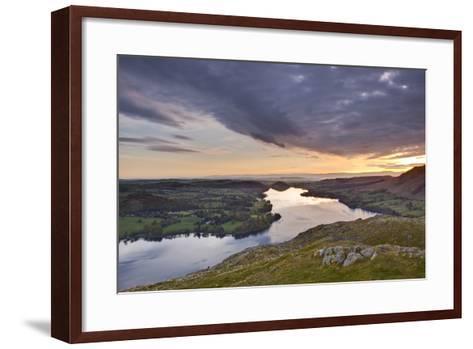 Ullswater in the Lake District National Park, Cumbria, England, United Kingdom, Europe-Julian Elliott-Framed Art Print