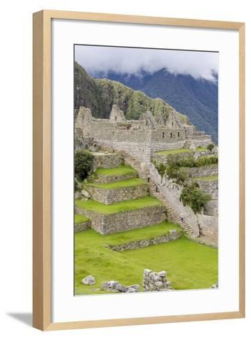 Machu Picchu, UNESCO World Heritage Site, Near Aguas Calientes, Peru, South America-Michael DeFreitas-Framed Art Print