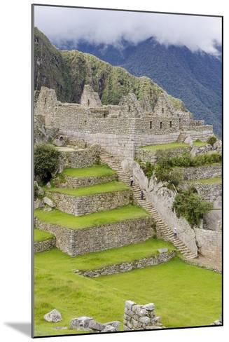 Machu Picchu, UNESCO World Heritage Site, Near Aguas Calientes, Peru, South America-Michael DeFreitas-Mounted Photographic Print