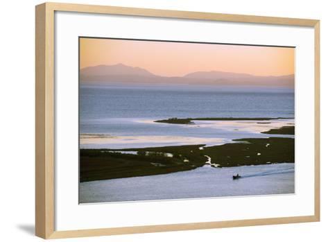 Butrint and Corfu Island in Distance, Albania, Mediterranean, Europe-Christian Kober-Framed Art Print