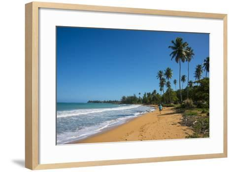 Luquillo Beach, Puerto Rico, West Indies, Caribbean, Central America-Michael Runkel-Framed Art Print