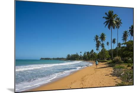 Luquillo Beach, Puerto Rico, West Indies, Caribbean, Central America-Michael Runkel-Mounted Photographic Print