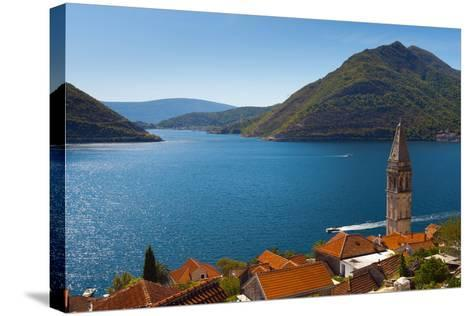 Perast, Bay of Kotor, UNESCO World Heritage Site, Montenegro, Europe-Alan Copson-Stretched Canvas Print