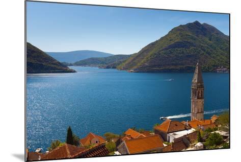 Perast, Bay of Kotor, UNESCO World Heritage Site, Montenegro, Europe-Alan Copson-Mounted Photographic Print