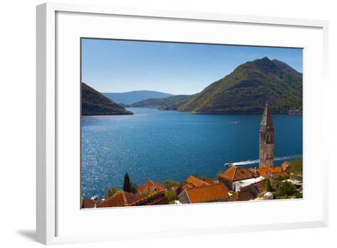 Perast, Bay of Kotor, UNESCO World Heritage Site, Montenegro, Europe-Alan Copson-Framed Art Print