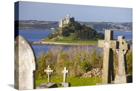 St. Michael's Mount, Cornwall, England, United Kingdom, Europe-Miles Ertman-Stretched Canvas Print