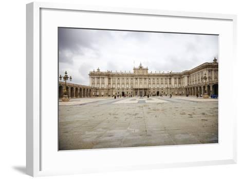 The Royal Palace, Madrid, Spain, Europe-Mark Mawson-Framed Art Print