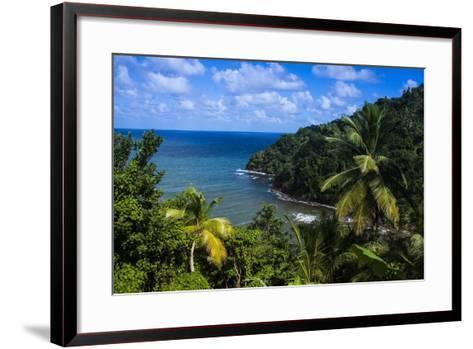 Pagua Bay in Dominica, West Indies, Caribbean, Central America-Michael Runkel-Framed Art Print