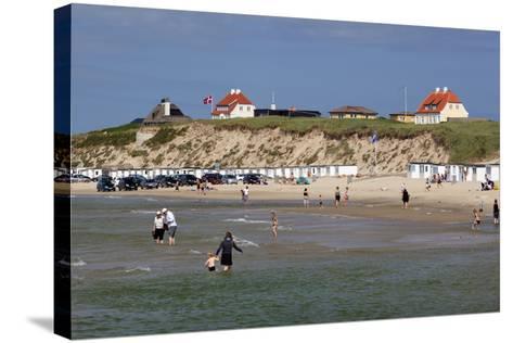 Beach View, Lokken, Jutland, Denmark, Scandinavia, Europe-Stuart Black-Stretched Canvas Print