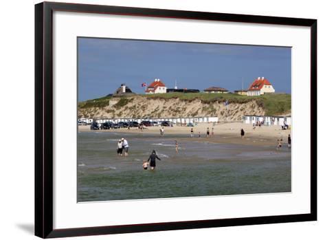 Beach View, Lokken, Jutland, Denmark, Scandinavia, Europe-Stuart Black-Framed Art Print