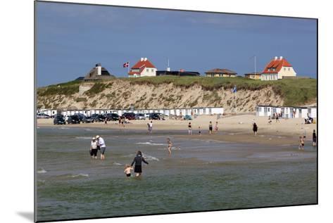 Beach View, Lokken, Jutland, Denmark, Scandinavia, Europe-Stuart Black-Mounted Photographic Print