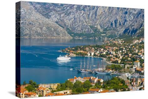 Kotor, Bay of Kotor, UNESCO World Heritage Site, Montenegro, Europe-Alan Copson-Stretched Canvas Print