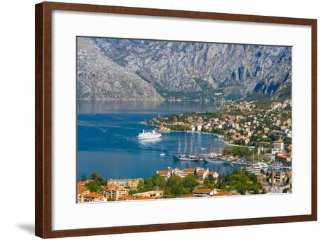 Kotor, Bay of Kotor, UNESCO World Heritage Site, Montenegro, Europe-Alan Copson-Framed Art Print