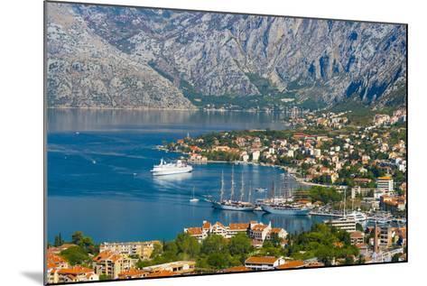 Kotor, Bay of Kotor, UNESCO World Heritage Site, Montenegro, Europe-Alan Copson-Mounted Photographic Print