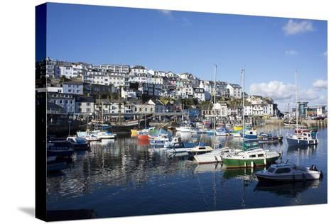 Harbour, Brixham, Devon, England, United Kingdom-Peter Groenendijk-Stretched Canvas Print