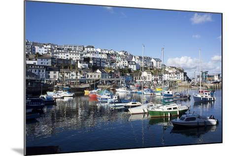 Harbour, Brixham, Devon, England, United Kingdom-Peter Groenendijk-Mounted Photographic Print
