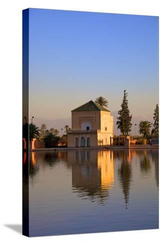 Menara Gardens, Marrakech, Morocco, North Africa, Africa-Neil Farrin-Stretched Canvas Print