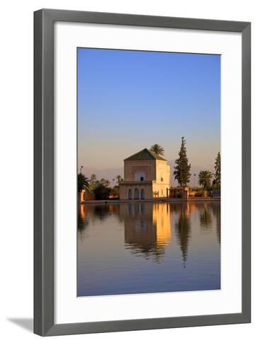 Menara Gardens, Marrakech, Morocco, North Africa, Africa-Neil Farrin-Framed Art Print
