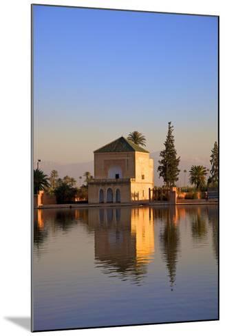 Menara Gardens, Marrakech, Morocco, North Africa, Africa-Neil Farrin-Mounted Photographic Print