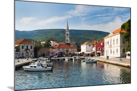 Jelsa Harbour, Hvar Island, Dalmatian Coast, Adriatic, Croatia, Europe-Matthew Williams-Ellis-Mounted Photographic Print