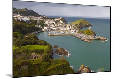 View over Ilfracombe, Devon, England, United Kingdom, Europe-Miles Ertman-Mounted Photographic Print