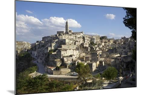 View of Matera from the Church, Matera, Basilicata, Italy, Europe-Olivier Goujon-Mounted Photographic Print