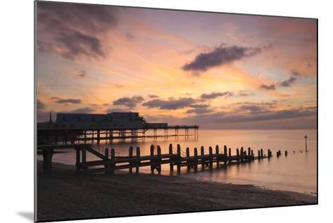 Aberystwyth Pier, Ceredigion, West Wales, United Kingdom, Europe-Billy Stock-Mounted Photographic Print