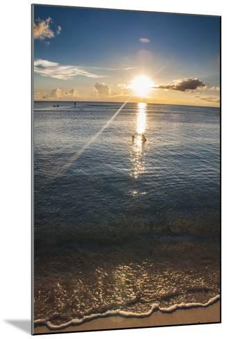 Sunset in Guam, Us Territory, Central Pacific, Pacific-Michael Runkel-Mounted Photographic Print