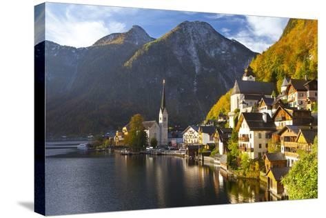 Hallstatt, UNESCO World Heritage Site, Salzkammergut, Austria, Europe-Miles Ertman-Stretched Canvas Print