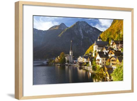 Hallstatt, UNESCO World Heritage Site, Salzkammergut, Austria, Europe-Miles Ertman-Framed Art Print