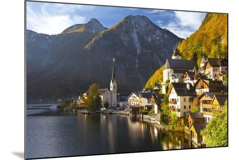 Hallstatt, UNESCO World Heritage Site, Salzkammergut, Austria, Europe-Miles Ertman-Mounted Photographic Print