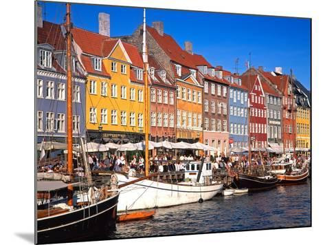 Waterfront District, Nyhavn, Copenhagen, Denmark, Scandinavia, Europe-Gavin Hellier-Mounted Photographic Print