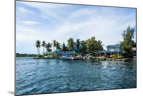 The Harbour of Koror, Palau, Central Pacific, Pacific-Michael Runkel-Mounted Photographic Print