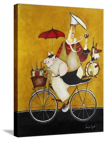 Chef Coshon-Jennifer Garant-Stretched Canvas Print