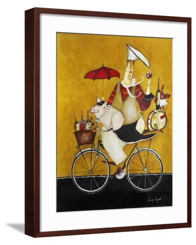 Chef Coshon-Jennifer Garant-Framed Art Print