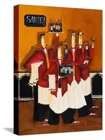 Sante-Jennifer Garant-Stretched Canvas Print