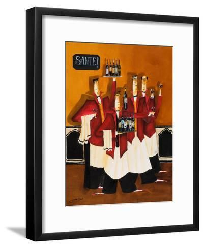 Sante-Jennifer Garant-Framed Art Print