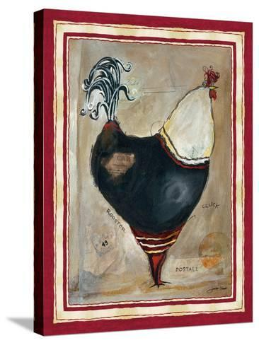 French Rooster I-Jennifer Garant-Stretched Canvas Print