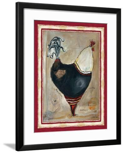 French Rooster I-Jennifer Garant-Framed Art Print