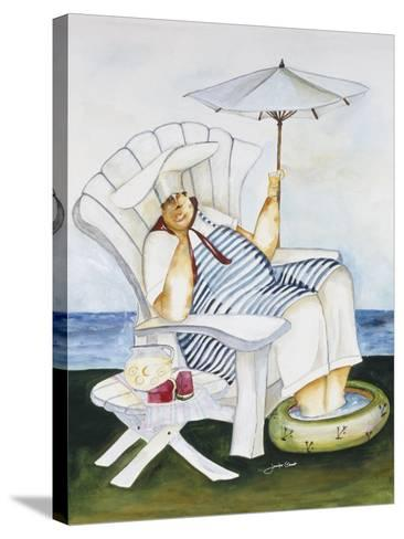 Seaside Chef-Jennifer Garant-Stretched Canvas Print