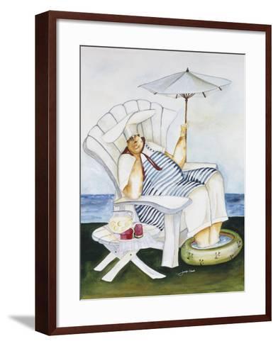 Seaside Chef-Jennifer Garant-Framed Art Print