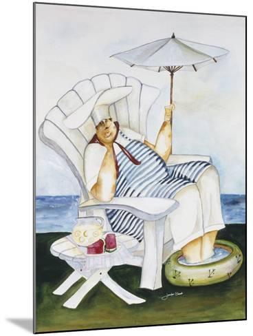 Seaside Chef-Jennifer Garant-Mounted Giclee Print