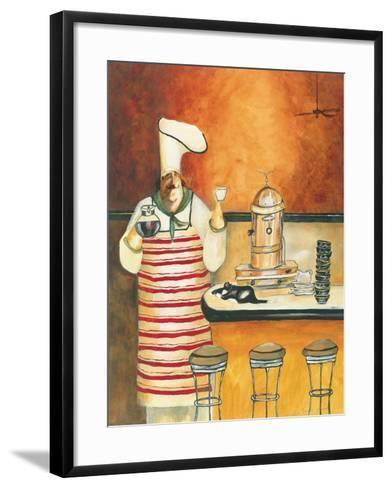 Luigi with Latte-Jennifer Garant-Framed Art Print
