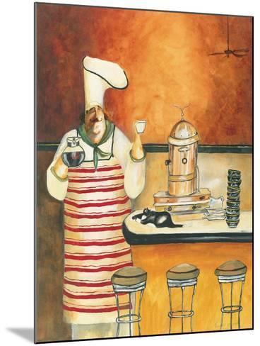 Luigi with Latte-Jennifer Garant-Mounted Giclee Print