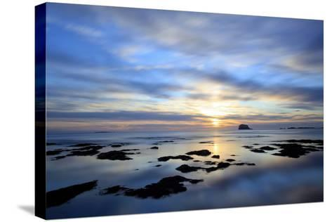 Bass Rock at Dawn, North Berwick, Scotland, UK, August. 2020Vision Book Plate-Peter Cairns-Stretched Canvas Print
